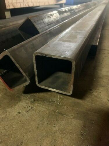 "Steel Square Tube 3"" x 3"" x 48"" Long x 3/16"" Wall (0.188"")"
