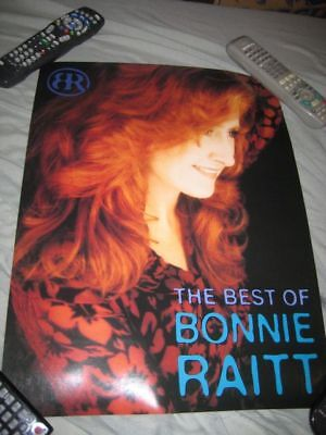 BONNIE RAITT-(the best of)-15x19 POSTER-2 SIDED-NMINT