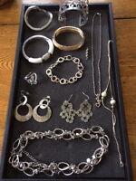 Collection of Lia Sophia Jewellry