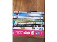 Eight Family dvd's