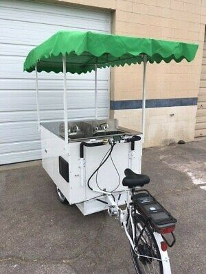 Hot Dog Cart On Trike Frame - Was 9000 On Sale Now 6000