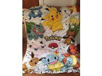 Pokemon & Unicorn Bedding Sets