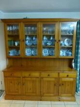 Pine Wall Dresser Preloved Solid pine Thornlands Redland Area Preview