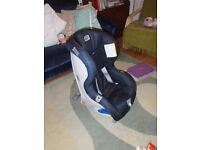 ULTRA SAFE rear facing child car seat for 9-25kg (5-6 yrs). No crashes or bumps. About £200 new