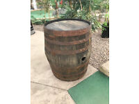 Empty Whisky Barrels for sale £40 (uses; Flower Planters, Tables, Chairs, Kennels)
