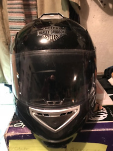 For Sale by Auction - Harley Davidson Stealth Flame Black Helmet