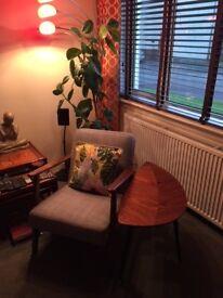 IKEA Ekenaset grey armchair in excellent condition