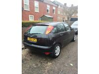 Ford Focus 1.8 zetec black