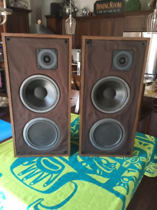 PSB Vintage Passif 1 Speakers: Early Version- Re-Foamed