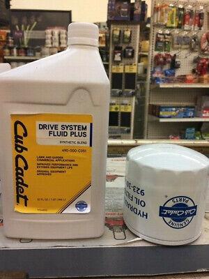 CUB CADET Hydrostatic Filter & Hydro Drive System Oil Kit NEW IN BOX Cub Cadet Filters
