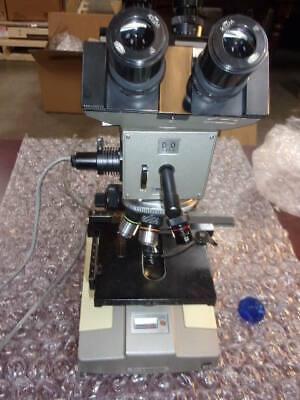 Olympus Bhb Bh Microscope -dual Head- 2-light Source-