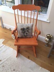 Rocking chair (orange)