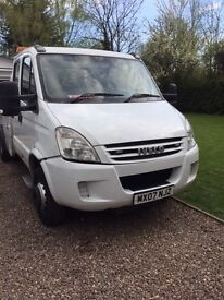 IVECO 65c18 RECOVERY SPEC LIFT 2007 WHITE 7 SEATER