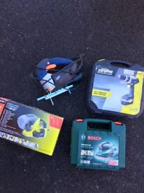 Power tools job lot