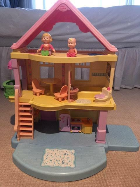 Doll House Fisher Price My First Dollhouse Toys Indoor Gumtree
