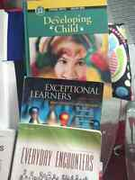 EDUCATION ASSISTANT OR EARLY LEARNING AND CHILD CARE BOOKS