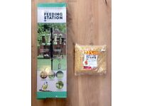 Petface York Bird Feeding Station and seed: unused in original packaging RRP £29.99