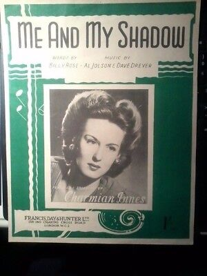 Piano sheet music-Me and My Shadow (Song) [Sheet music] [Jan 01, 1927]