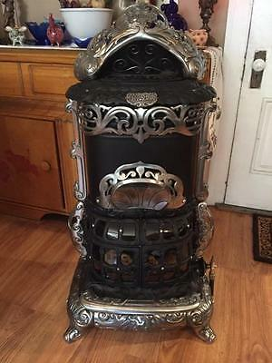 ANTIQUE GAS PROPANE BURN PARLOR STOVE 1888 DANGLER STOVE CO.