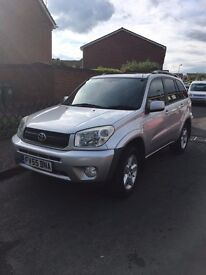 TOYOTA RAV 4 SILVER 55 PLATE LEATHER INTERIOR FULLY LOADED