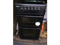 £99.50 Beko full black ceramic electric cooker+50cm+3 months warranty for £99..50