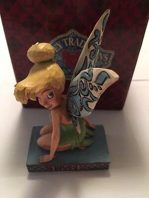 "Disney Traditions Peter Pan Jim Shore Tinker Bell ""Pixie Pose"""