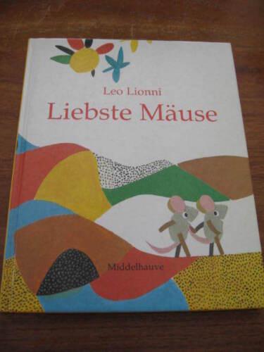(E896) ALTES KINDERBUCH LIEBSTE MÄUSE LEO LIONNI MIDDELHAUVE VERLAG UM 1990