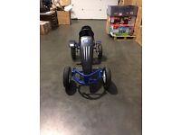 Duplay Velocity Kids MEGA LARGE Ride On Pedal Go Kart - Blue - RRP 399.99 - Ride11