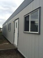 OFFICE TRAILER 12'x60' SKIDDED OFFICE TRAILER FOR SALE