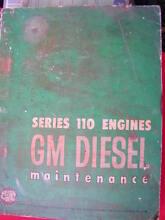 DETROIT GM DIESEL SERIES 110 ENGINE WORKSHOP SERVICE MANUAL c1963 Dianella Stirling Area Preview