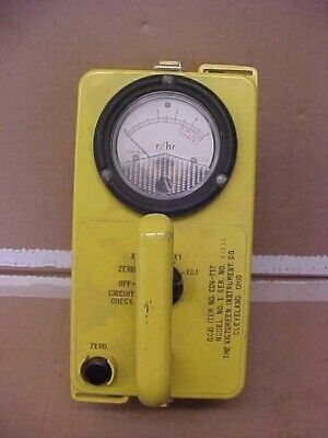 85 Off Victoreen Remote Geiger Counter Cdv-717 Mod1 Radiation Detector Lc465