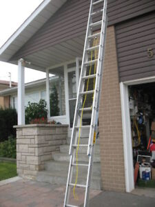 12 foot aluminum extension roofing  ladder