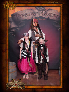 Pirates of the Caribbean costume, girls