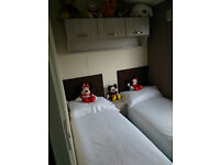 gold rated static caravan for hire