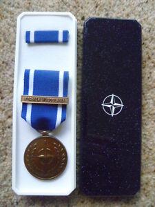 ORIGINAL NATO  MEDAL - FORMER YUGOSLAVIA - BRAND NEW IN BOX OF ISSUE