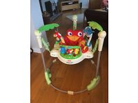 Fisher Price Rainforest Jumperoo - good condition, clean and ready to use