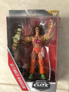 WWE ULTIMATE WARRIOR ELITE with belt, Brand New