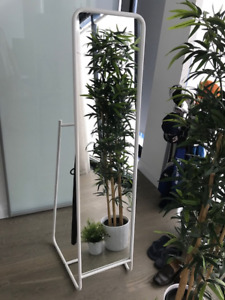 Ikea Standing Mirror and clothes hanger