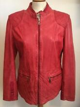Womens washed lamb skin leather jacket sample Avalon Pittwater Area Preview