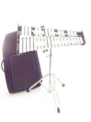 32 Key 2.5 Octave Xylophone with Stand Case and Mallets