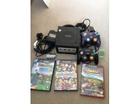 Ninentendo Black Gamecube Bundle