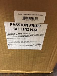 Passionfruit bellini mix
