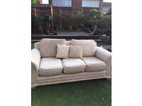 Cream Sofa and Am Chair - Free