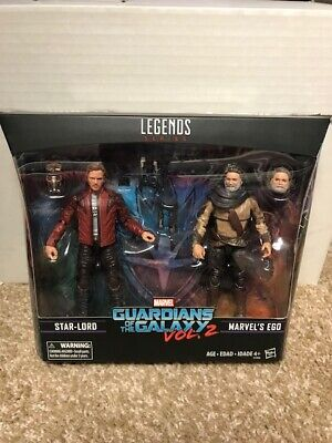 Marvel Legends Guardians of the Galaxy Star-lord Ego 2 Pack