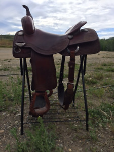 Bobs Custom Cutting Saddle