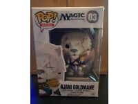 Brand New Collectors Pop Figure - Magic The Gathering - no.3 Ajani Goldmane