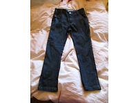 Unisex Age 7yrs Jasper Conran Dark Blue Jeans - worn once .