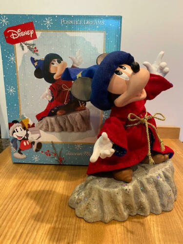 Department 56 Possible Dreams Disney Sorcerer Mickey #6008567 New for 2021