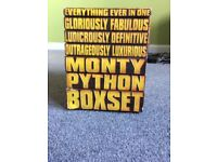 Monty Python DVD - Everything ever in one boxset - rare collectors edition