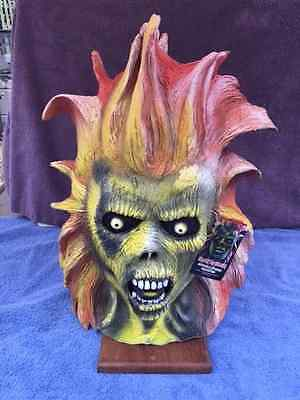 Halloween IRON MAIDEN EDDIE Latex Deluxe Mask TOT's Officially Licensed